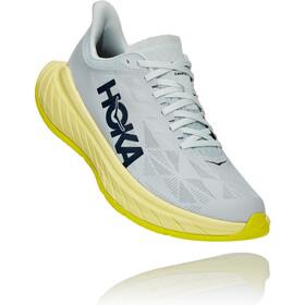 Hoka One One Carbon X 2 Shoes Men, blue flower/luminary green